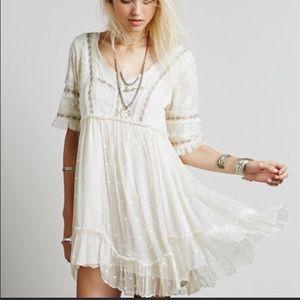 Free People Little Dot Mini Dress
